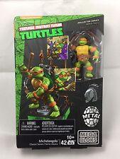 Metal Nickelodeon Collector Mega Bloks Teenage Mutant Ninja Turtles Michelangelo