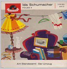 """7"""" Ida Schumacher 2. Am Standesamt / Der Umzug 60`s Polydor 21350 EPH"""