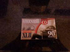 Maxell High Bias Audio Cassette XLII (90 Minutes) IEC Type II EQ 70us