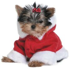 "10 x Christmas Cards Pack ""Santa Yorkie"" Puppy Dog Yorkshire Terrier Freepost"