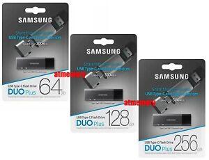 Samsung Duo Plus 32GB 64GB 128GB 256GB USB Flash Drive USB3.1 Up to 300MB/s DB
