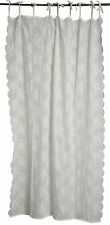 LENE BJERRE Gardine Vorhang CATIE Embroidery 140x220 offwhite weiss NEU