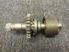 1982 Suzuki RM125 Kickstarter gear assembly kick shaft 82 RM 125