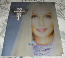 Cher Farewell Tour Brochure 2004 with Ticket from Wembly Arena Loads of Photos