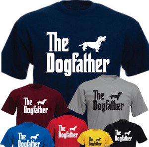 The Dogfather Dachshund Funny Gift Present T-shirt