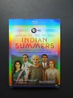 Indian Summers - Season 1 (Blu-ray, 2015, 3-Disc) SLIP COVER INCLUDED  NEW