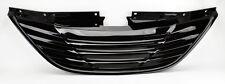 Black Horizontal Badgeless Front Bumper Hood Grill FITS Hyundai Sonata 10-13