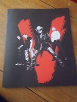 U2 VERTIGO TOUR PROGRAMME 2005