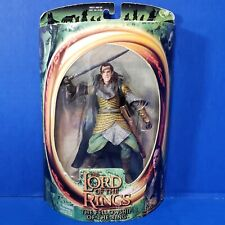 Lord Of The Rings Fellowship Elrond Elven Sword Attack Toybiz 2001