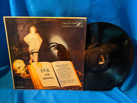 Buddy Morrow LP Poe for Moderns RCA Victor LPM-2208 Edgar Allan Halloween