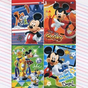 Mickey Mouse handwriting exercise book 3-lined. Myszka Mickey Zeszyt w 3 linie