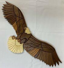 Eagle Wall Art, Wood, Lloyd M. Day Artist