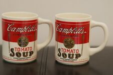 Vintage Campbell's Soup Mugs/Cups Lo of 2