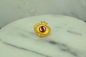 10K YELLOW GOLD SAFEWAY 5 YEARS SERVICE AWARD LAPEL PIN #X10-1653
