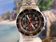 Sharp 7T92 0JC0 Seiko 3 reg Chrono Mens Quartz Date Watch 45mm 830193