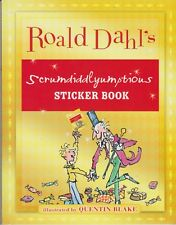 Roald Dahl's Scrumdiddlyumptious Sticker Book (Softcover, Children's. Educatonal