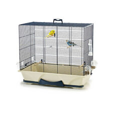 "Large Metal Bird "" Cage , Parrot , Canary , Budgie , Finch , Cockatiel Cage Blue"