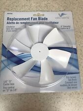 RV 12 Volt Fan Blade for Power Roof Vents - Clockwise Replacement - D Shaft - 6""