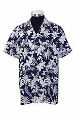 LOVE MOSCHINO Navy Blue/White Floral Print Super Slim Fit Shirt  Sz.XXXL NWT