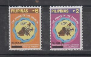Philippine Stamps 1994 Ist East Asean Business Convention complete set MNH