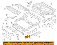 BMW OEM 11-13 550i xDrive Seat Track-Track Cover Left 52109175067