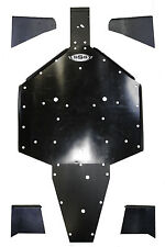Polaris RZR 900 S skid plate with rockers UHMW SSS Off Road FULL PACKAGE