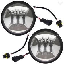 "Eagle Lights Generation II 4.5"" Chrome LED Passing Lamp Kit for Harley Davidson"