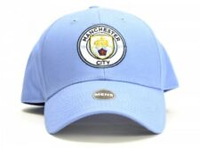 Manchester City FC Sky Blue Mens Baseball Cap Hat New Crest Official