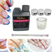 6 in 1 Professional Nail Art Kit Acrylic Liquid Powder Pen Dappen DishSet Base