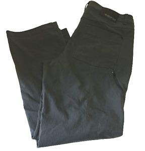 Mountain Hardwear Mens Gray Nylon Cargo Hiking Climbing Pants W36 X 32L