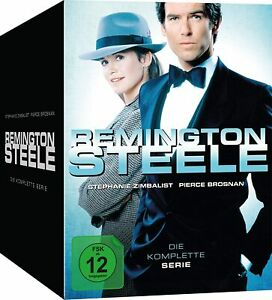 Remington Steele Season 1-5 Complete TV Series 1 2 3 4 5 NEW 30 DVD BOX REGION 2