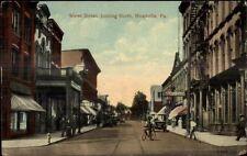 Meadville PA Water St. c1910 Postcard