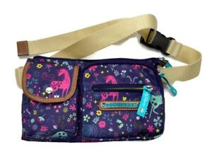Lily Bloom UNI CORNY Eco-Friendly Janet Belt Bag Unicorns Fanny Pack Front Pac