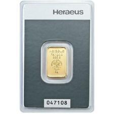 Heraeus - 5 Gramm Goldbarren - 999,9 Gold