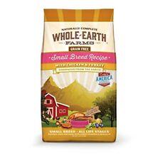 Whole Earth Farms Small Breed Grain Free Recipe Pet Food 12-Pound