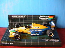 BENETTON FORD B191 M SCHUMACHER 1991 MINICHAMPS 1/43