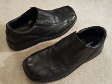 Merona Mens Sz 10.5 Black Slip On Shoes