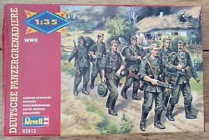REVELL 1:35 GERMAN ARMOURED INFANTRY FIGURES WW1 BNIB model kit