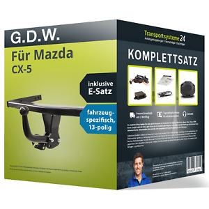 Anhängerkupplung starr für MAZDA CX-5 +E-Satz Kit (AHK+ES)