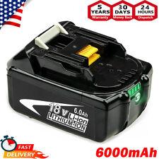 6.0Ah Battery For Makita BL1860B LXT 18V Lithium BL1850 BL1830 LED Indicator NEW