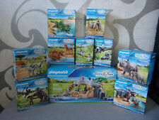 Playmobil Family Fun - Adventure Zoo (Animals) Set's for Selection - Nip
