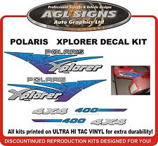 POLARIS XPLORER 400 4X4 Decal kit  1996 reproductions   2x4 also available