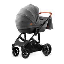 Bebé coche de Niños Buggy combi carrito Kinderkraft Prime gris 2 en 1 Top