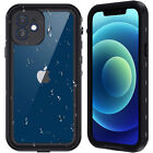 Waterproof Case For Apple iPhone 12 /12 Pro Max Shockproof With Screen Protector