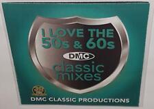 DMC CLASSIC MIXES I LOVE THE 50s & 60s VOL 1 DJ REMIX SERVICE REMIX CD