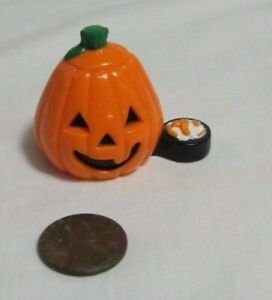 FISHER PRICE Loving Family Dollhouse HALLOWEEN PUMPKIN Jack-o-Lantern Treats