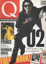 Q MAGAZINE July 1992 U2 AL