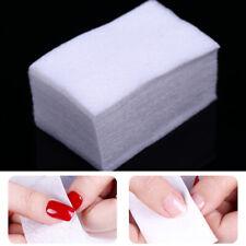 500 Pcs/Bag Lint-Free White Nail Cotton Wipes Nail Art Professional Soft Wipes M