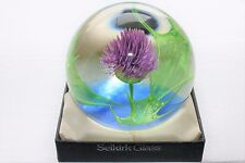 Selkirk 'Scotia' Ltd Ed.Paperweight with Box & Certificate 253/500 Peter Holmes