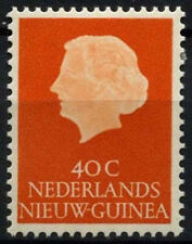 Netherlands New Guinea 1954-60 SG#32, 40c Orange Queen Juliana MNH #D43737